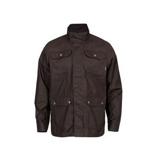 Rocky Outdoor Jacket Mens Zip SilentHunter Dark Mocha LW00143