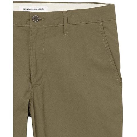 Essentials Men's Athletic-Fit Lightweight Stretch Pant - 31W x 34L