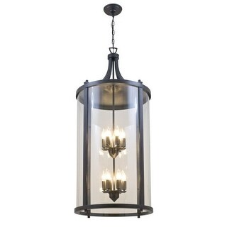 DVI Lighting DVP4477 Niagara Outdoor 12 Light Lantern Pendant
