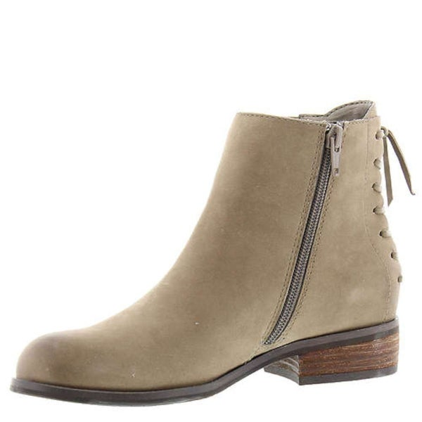 ARRAY Womens Logan Leather Round Toe Ankle Chelsea Boots