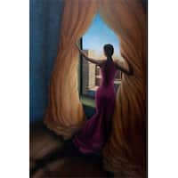''Return to the Light'' by Answerd Stewart African American Art Print (31 x 25 in.)