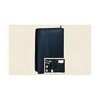 Leather Concealment Organizer, Planner Holster, Looks like an ordinary Organizer, Planner. - Black