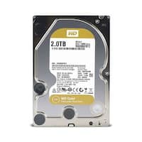 WD Gold 2TB Enterprise Class Hard Disk Drive - 7200 RPM Class SATA 6 Gb/s 128MB Cache 3.5Inch WD Gold 2TB Enterprise Class Hard