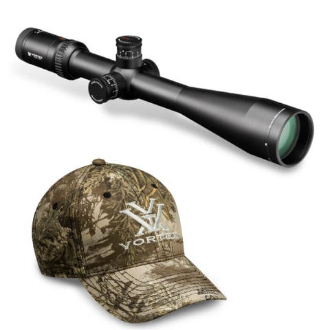 Vortex VHS-4325 Viper HS-T 6-24x50 Riflescope (MOA) and Vortex Hat