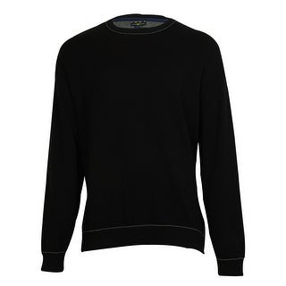 Club Room Men's Solid Color 100% Cotton Sweater