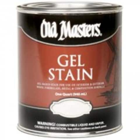 Old Masters 80504 Oil-Based Gel Stain, 1 Qt, Provincial