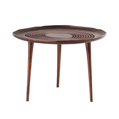 Pasargad Home Odeon Coffee Table or Side Table