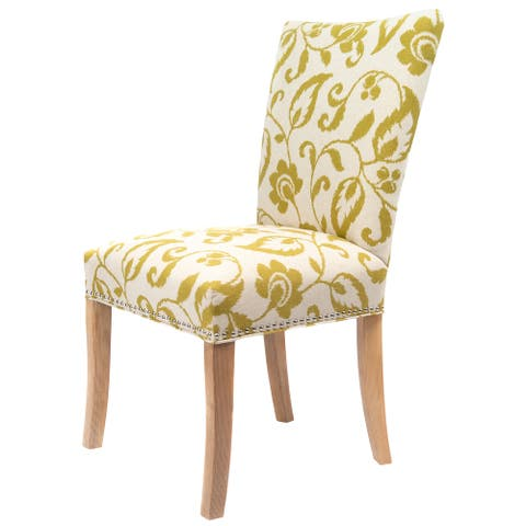 Julia Fan Back Living Room Accent Chair