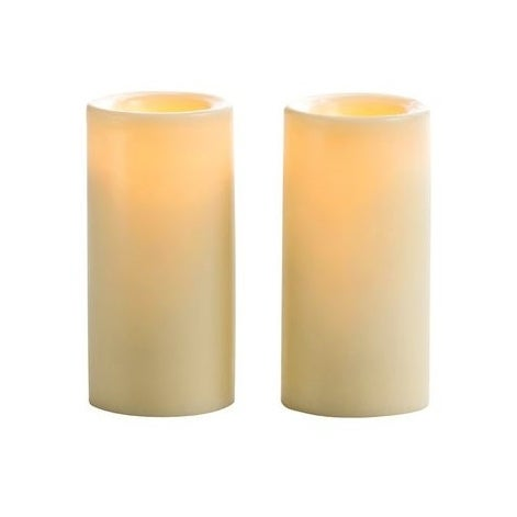 "Inglow CG10232CR2 Flameless Votive Candle, Cream, 3"", Cream Color, 2/Pack"