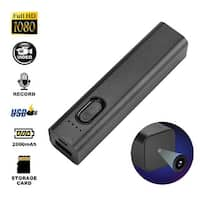 AGPtek 1080P HD WIFI Spy Hidden Camera,Multifunctional 2000mAh Mobile Power Bank Hidden Security Nanny Cam