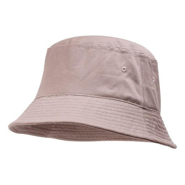 e004b681e400a Shop TopHeadwear Blank Cotton Bucket Hat - Free Shipping On Orders Over  45  - Overstock - 16953878