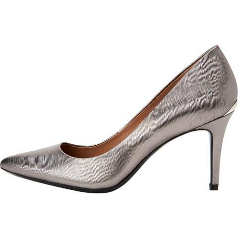 Calvin Klein Womens Gayle Heels Pointed Toe