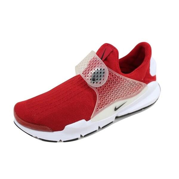 6dae4672ae2 Shop Nike Men s Sock Dart Gym Red Black-White 819686-601 - On Sale ...