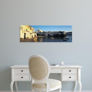 Easy Art Prints Panoramic Images's 'Cadaques, Spain' Premium Canvas Art