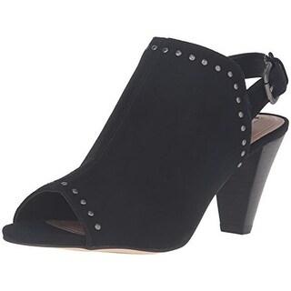 Tahari Womens Elton Dress Sandals Suede Studded