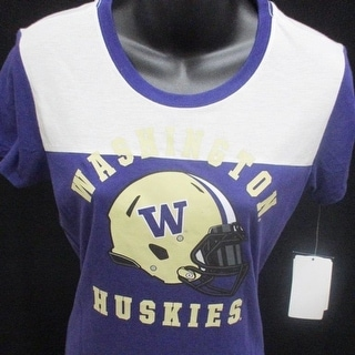 Washington Huskies Women Sizes S M L XL Purple Nike Shirt 38