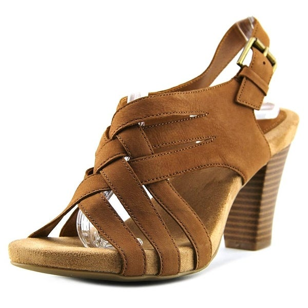 Giani Bernini Justyne Women Open Toe Leather Sandals