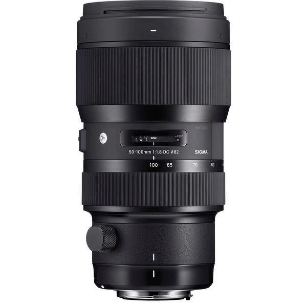 Sigma 50-100mm f/1.8 DC HSM Art Lens for Nikon Mounts - black