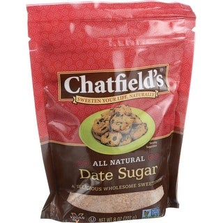 Chatfield's All Natural Date Sugar - 8 oz - 6 Pack