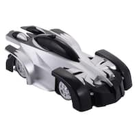 Costway RC Wall Climber Radio Remote Control Racing Car Climbing Racer Kid Boys Gift - Black