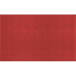 843650024 Water Guard Star Quilt Mat in Solid Red - 2 ft. x 4 ft. ft.