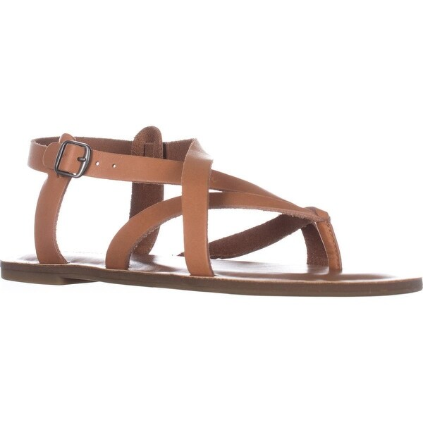 Lucky Adinis Flat Sandals, Natural