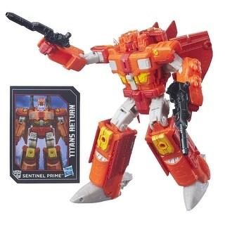 Transformers Generations Titans Return Figure: Infinitus and Sentinel Prime