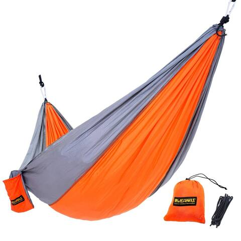 Double Camping Lightweight Nylon Portable Backpacking Hammock