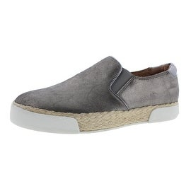 Sam Edelman Womens Banks Leather Metallic Fashion Sneakers - 9.5 medium (b,m)