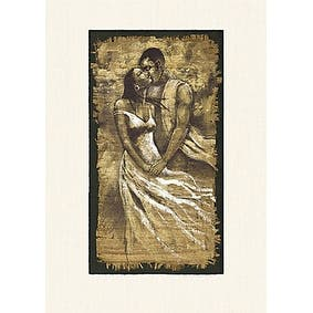 ''Whisper'' by Monica Stewart African American Art Print (20 x 16 in.)