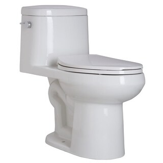 Mirabelle MIRSR241 Sarasota 1.28 GPF One-Piece Elongated ADA Height Toilet - with Soft-Close Seat