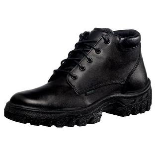 Rocky Work Boots Mens TMC Postal Leather Chukka Black FQ0005005