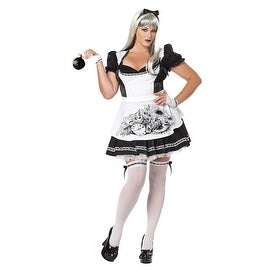 Sexy Dark Alice Womens Plus Size Halloween Costume