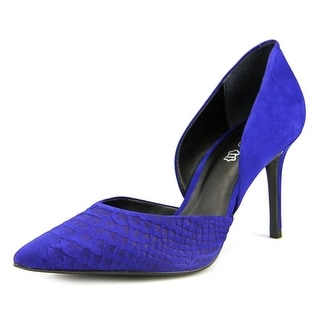 Aldo McFeaters Women  Pointed Toe Suede Blue Heels