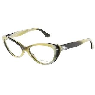 Balenciaga BA5013/V 047 Yellow Black Horn Cat Eye prescription-eyewear-frames