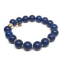 "Blue Jade Sophia 7"" Bracelet"