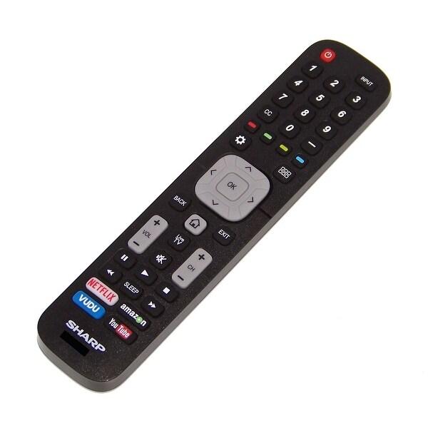 OEM Sharp Remote Control Originally Shipped With: LC65N5200, LC-65N5200, LC50N6000U, LC-50N6000U, LC65N9000U LC-65N9000U
