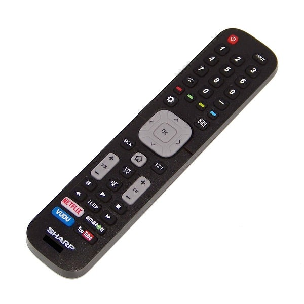 OEM Sharp Remote Control Originally Shipped With: LC65N9000, LC-65N9000, LC50N7000, LC-50N7000, LC60N6200U, LC-60N6200U