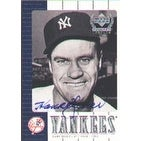 Hank Bauer New York Yankees 2000 Upper Deck Yankees Legends Autographed Card  This item comes with