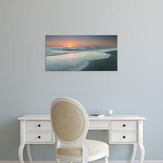 Easy Art Prints Robert J. Amoruso's 'Atlantic Sunrise No. 8' Premium Canvas Art