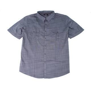 Alfani NEW Gray Boulder Mens Size 2XLT Button Down Double-Pocket Shirt|https://ak1.ostkcdn.com/images/products/is/images/direct/56b1e263e758f78610f57ddc644655e1376e94ae/Alfani-NEW-Gray-Boulder-Mens-Size-2XLT-Button-Down-Double-Pocket-Shirt.jpg?impolicy=medium