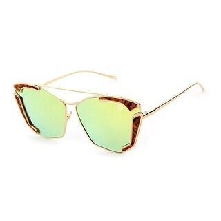 Street Affaries Arthur Sunglasses In Yellow - One Size