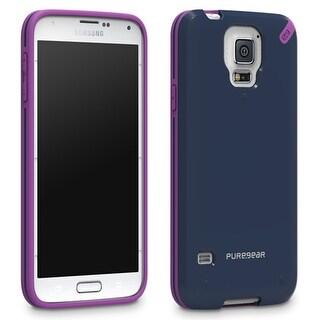 PureGear Slim Snap-On Shell Case for Samsung Galaxy S5 (Mystical Blue)