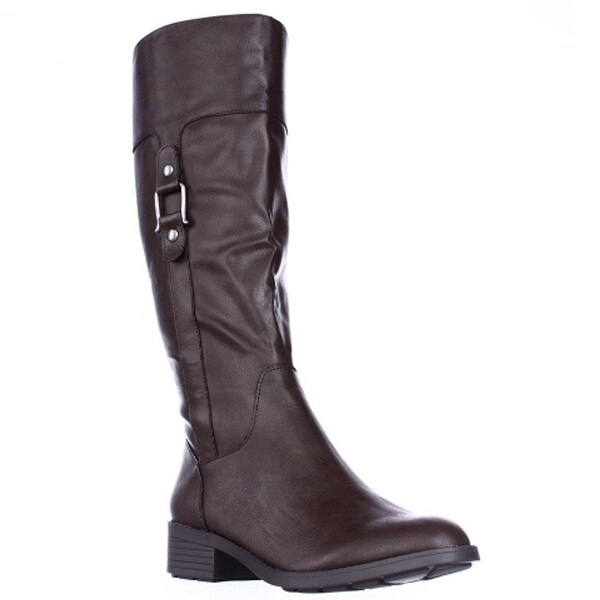 Style & Co. Womens Astaire Closed Toe Mid-Calf Fashion Boots - 8.5