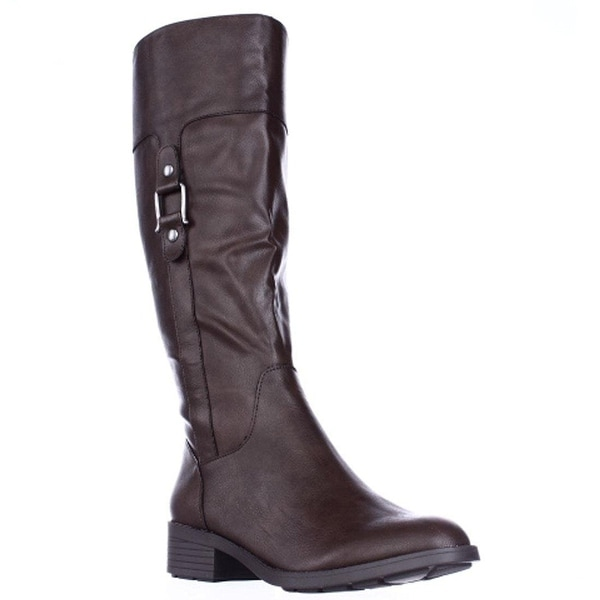 Style & Co. Womens star Round Toe Mid-Calf Fashion Boots