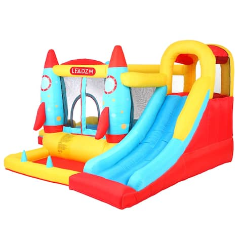Inflatable Bounce House Slide Bouncer Castle Jumper Playhouse .Multiple Style - A-Type