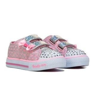 Skechers Girl's Toddler SHUFFLES GLITTER POP Sneakers