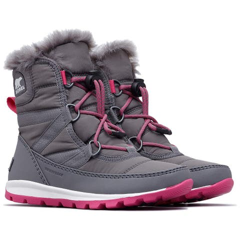 SOREL Kids' Youth Whitney Short Lace Snow Boot