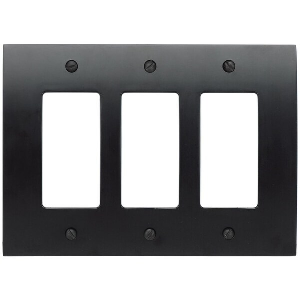 Shop Atlas Homewares Phptr Zephyr Triple Rocker Switch Plate Free