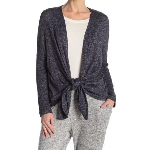 Bobeau Women's Sweater Blue Size Small S Cardigan Wrap Swing Convertible